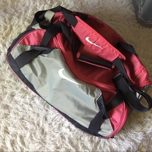 Pink Nike Duffle Gym Bag